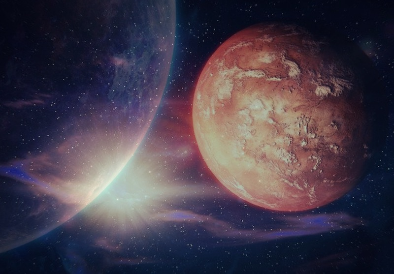 Intuitive Astrology: Uranus and Mars May- September 2018