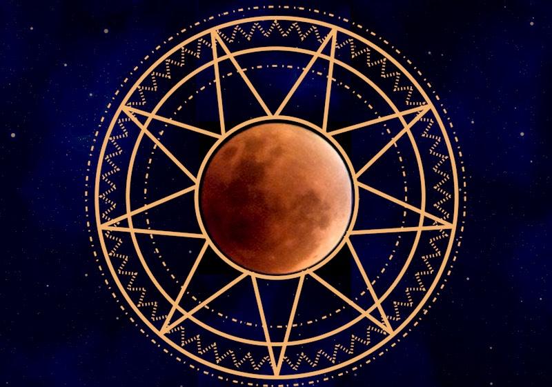 blood moon eclipse ritual