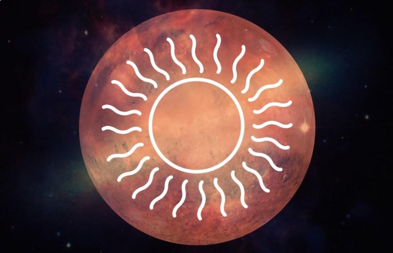 mars and sun astrology
