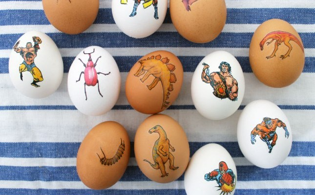 geeky easter egg ideas