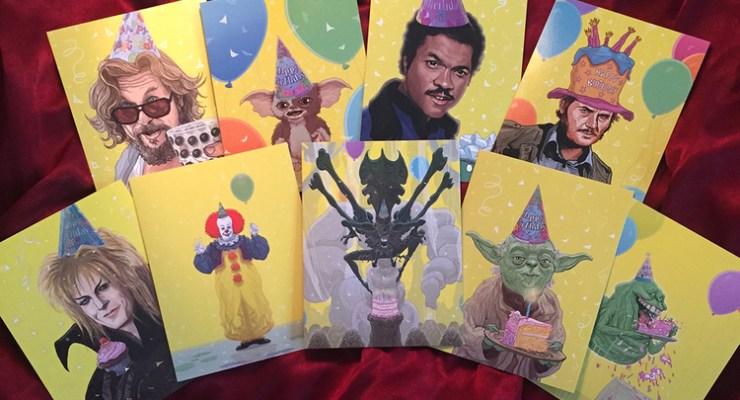 geeky birthday cards