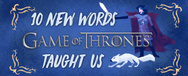 game of thrones words