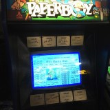 Arcade Expo 4.0 Paperboy signed