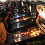 Arcade Expo 4.0 pinball row 2