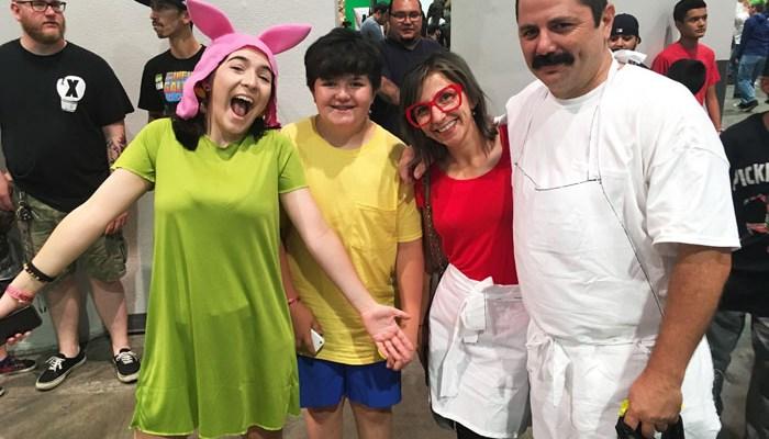 Amazing Las Vegas 2018 - Bob's Burgers Belcher Family