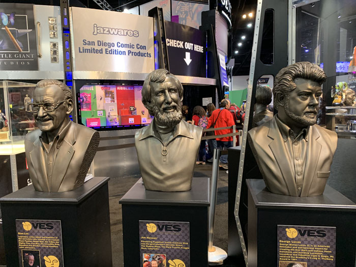 San Diego Comic-Con 2019 icon busts