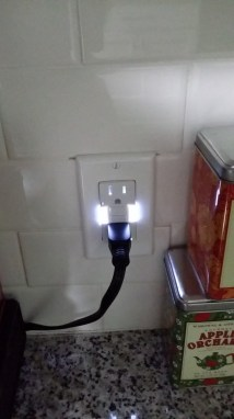 "New ""nightlight"" outlet"