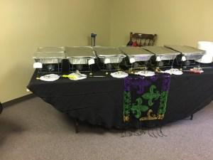Forever Grateful, LLC catering setup