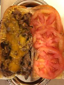 Forever Grateful, LLC Naw'lins Juicy Roast Beef Poboy