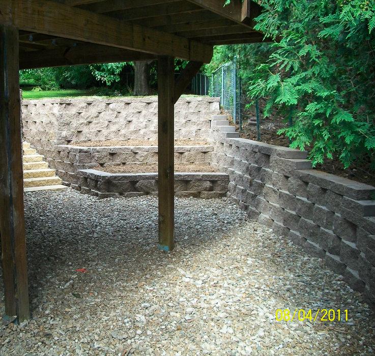 Retaining Walls Landscaping Design Forever Green