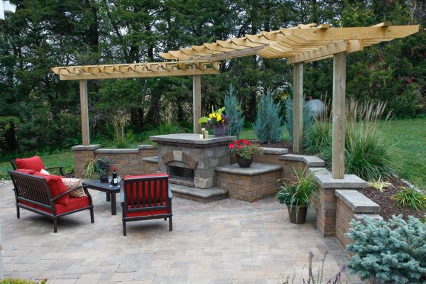 outdoor patios - landscaping design