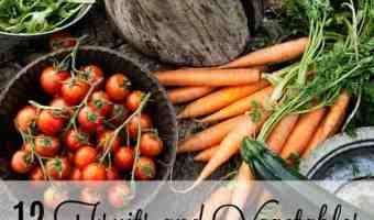 12 Fruits and Vegetables to Always buy Organic