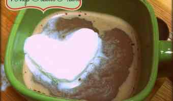 DIY Whip Cream Frozen Heart Treat