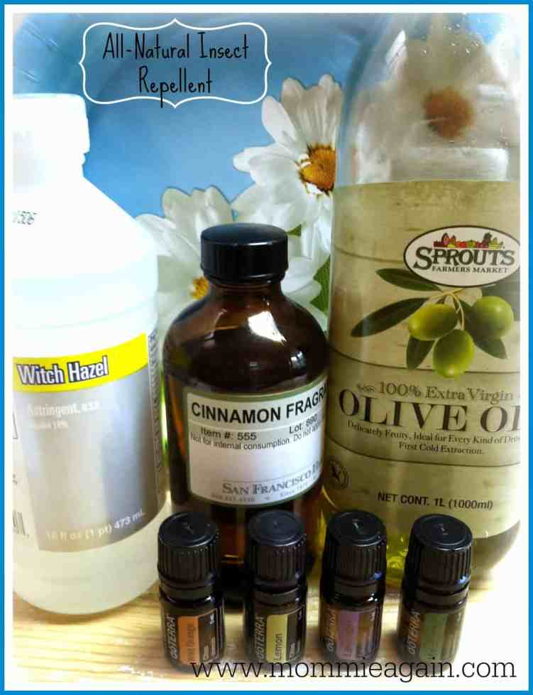 All-Natural Insect Repellent Recipe with Essential Oils