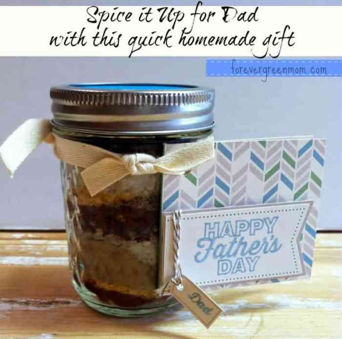 Here's a Quick and Easy Homemade Father's Day Gift - SPICE IT UP!