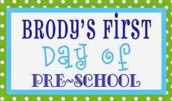 Back To School Time for Preschool, Homeschool, All Schools