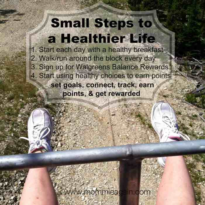 Balance Rewards for healthy choices is a Great Step to Your Health Goals