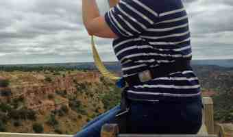 Palo Duro Canyon Zip Line Bucket List Check Off