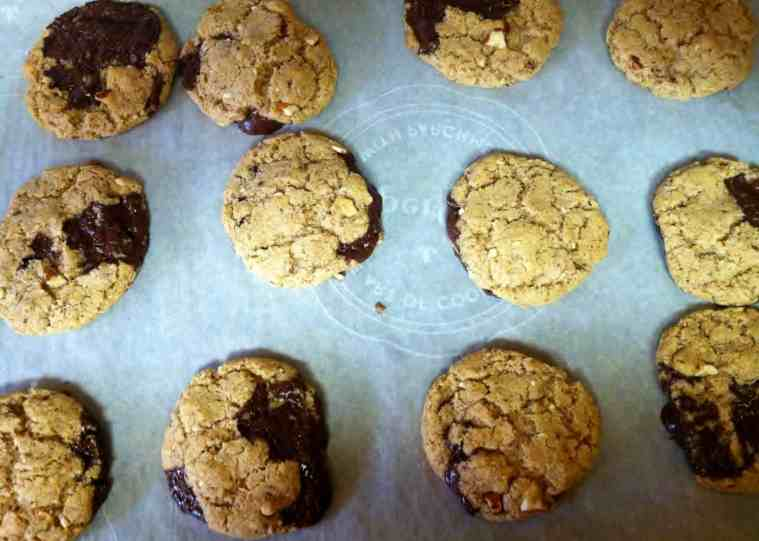 Easy & Delicious Gluten-Free, Dairy-Free Chunky Almond Chocolate Cookies
