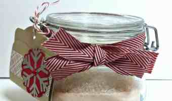 3 Easy DIY Holiday Bath Gifts Using Epsom Salt
