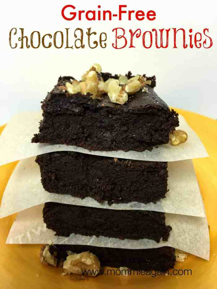 Decadent Grain-Free Chocolate Brownies Recipe