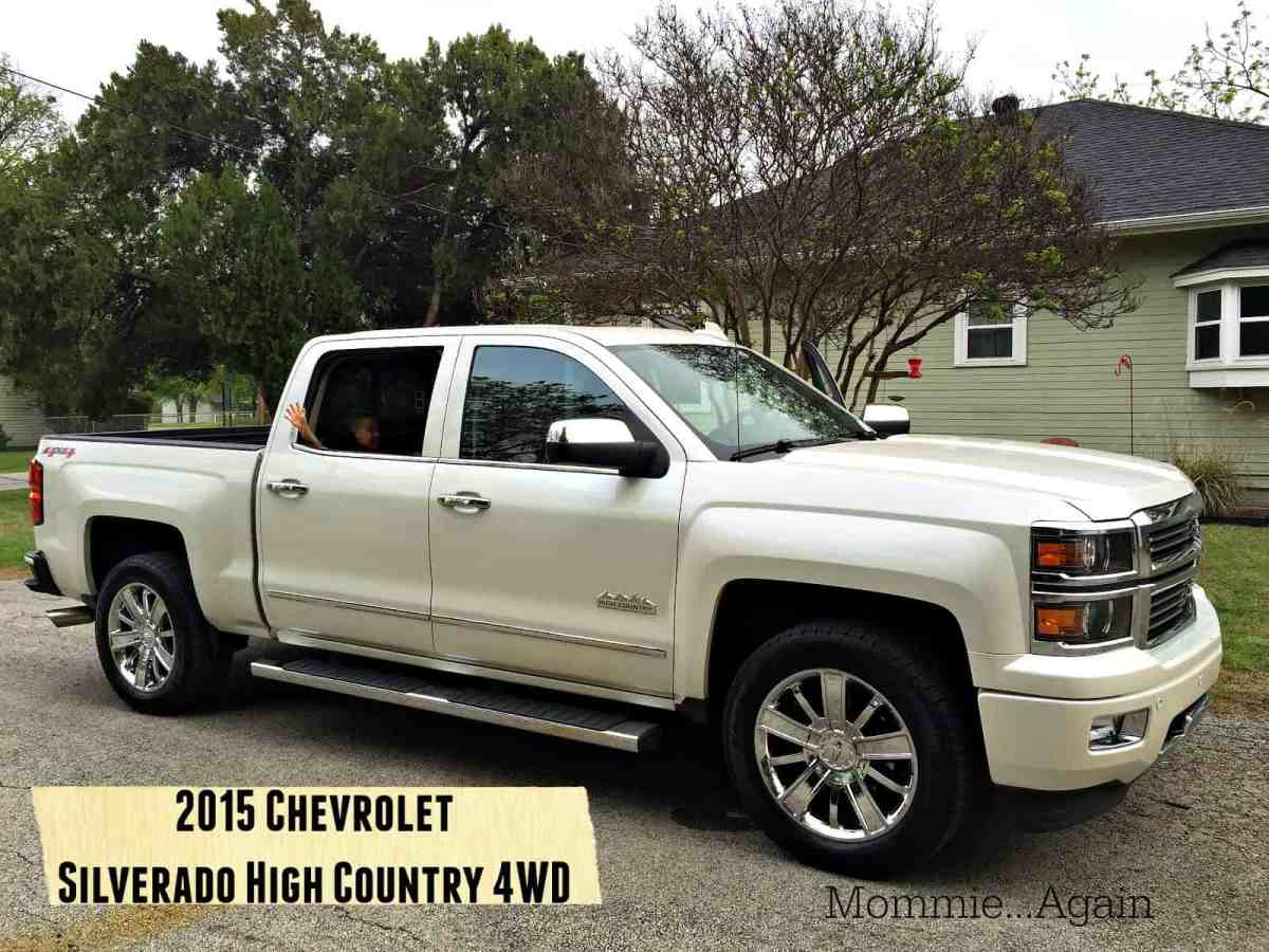 2015 Chevrolet Silverado High Country 4WD Crew Cab #Chevy