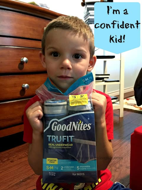 Keep Kids Confident in GoodNites TruFit Underwear