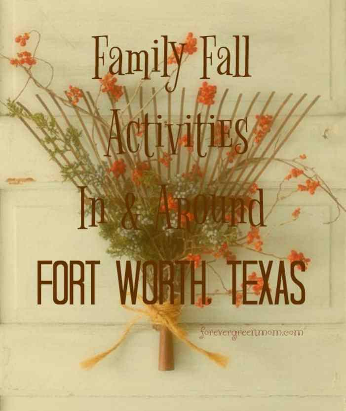 Fall Activities in and around Fort Worth Texas