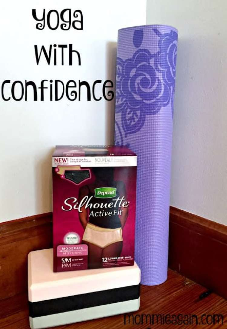 Yoga With Confidence #YogaPantChallenge with Depend® Active Fit