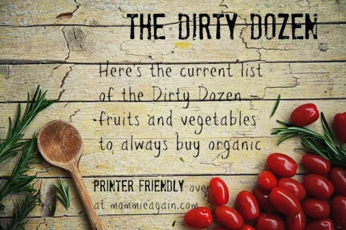 The Current List of The Dirty Dozen