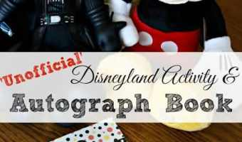 Going to Disney? Check out this Unofficial Disneyland Activity & Autograph Book by Dani, Guest Blogger