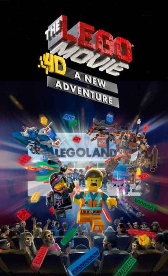 The LEGO Movie 4D at LEGOLAND Discovery Center is Back!!