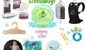 Winter Green Scene Eco-Friendly Products Mom Awards Giveaway ENDED