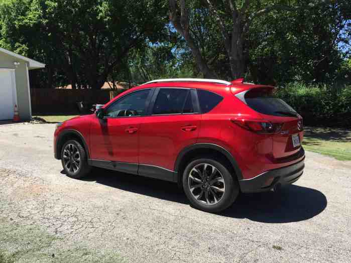 Red Mazda_2016_CX-5_RED
