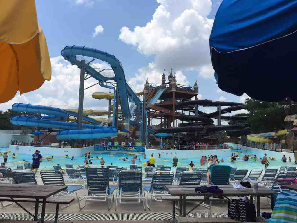 Water slide at Schlitterbahn