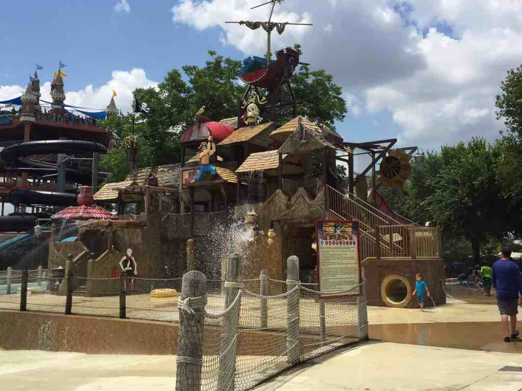 Pirate's Cove at Schlitterbahn waterpark New Braunsels