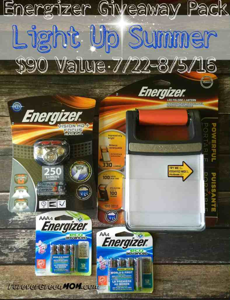 Energizer Prize Pack Giveaway