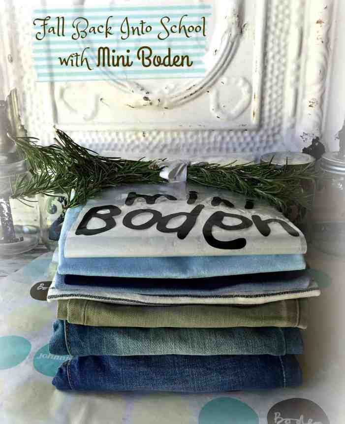 Fall Back to School with Mini Boden