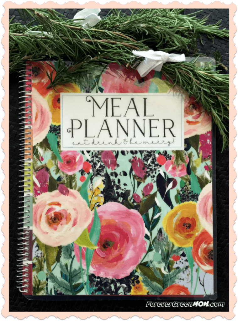 Plan your Meals with this Meal Planner by Carrie Elle