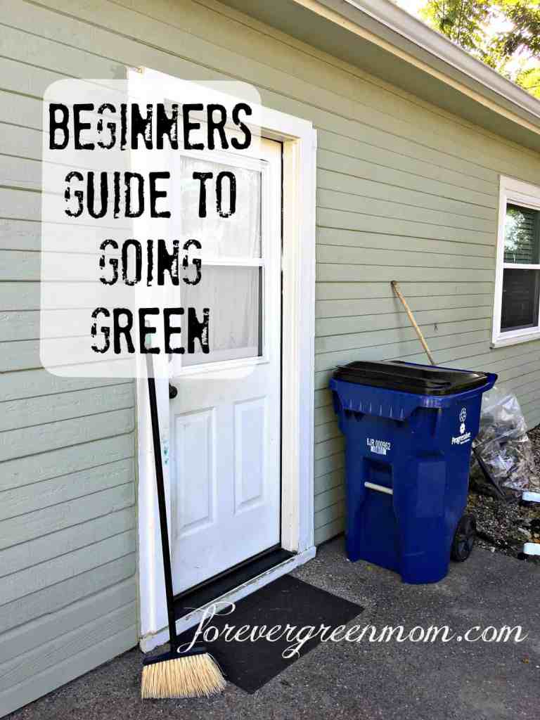 Beginners Guide to Going Green