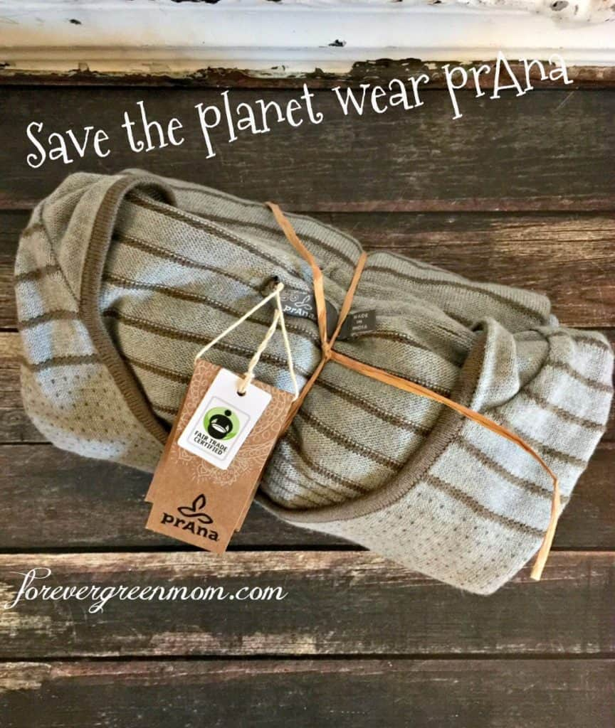 Save The Planet Wear prAna