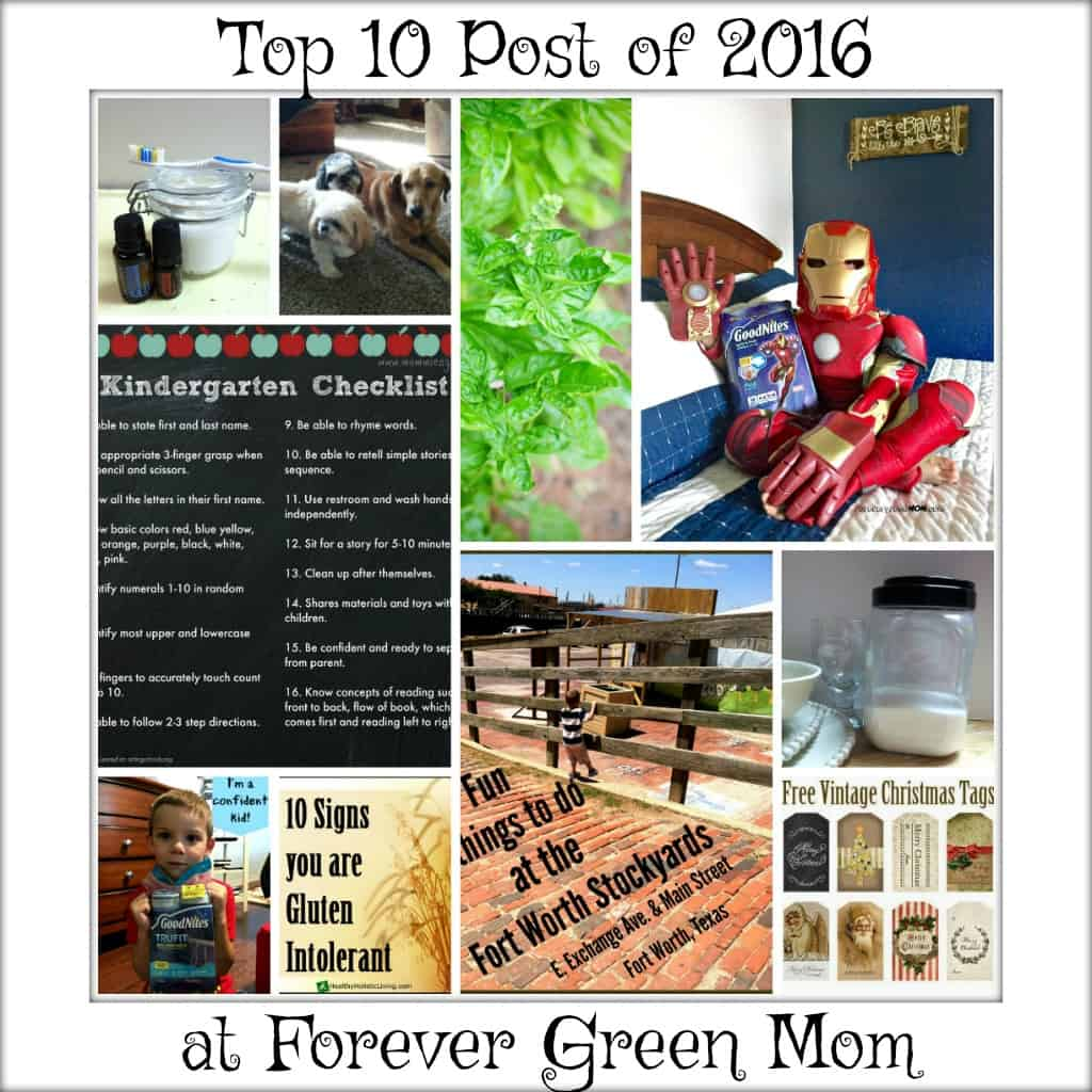 Top 10 Posts of 2016 Countdown