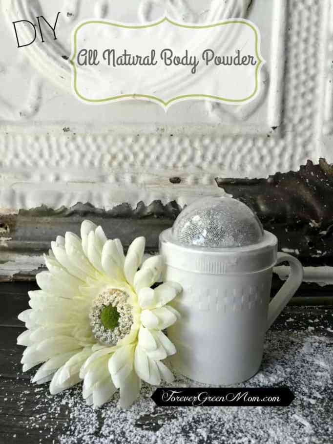 DIY All Natural Body Powder