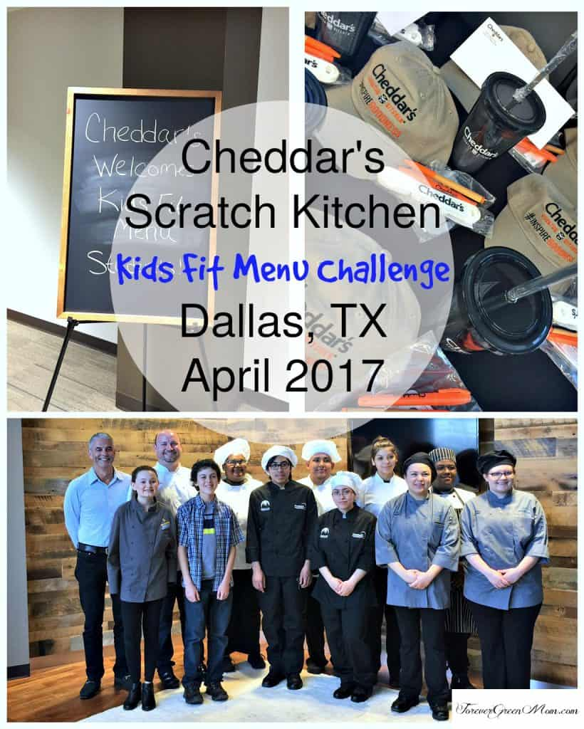 Cheddar's Scratch Kitchen Kids Fit Menu Challenge