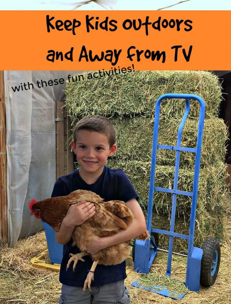 Activities to Keep Kids Outdoors and Away from TV