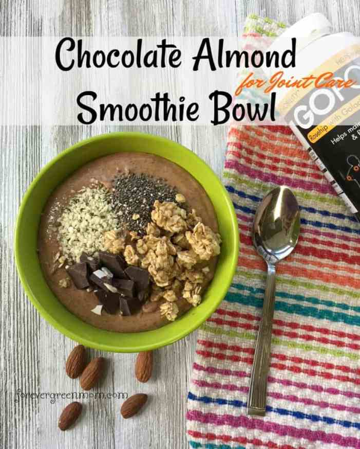 Chocolate Almond Smoothie Bowl for Joint Care