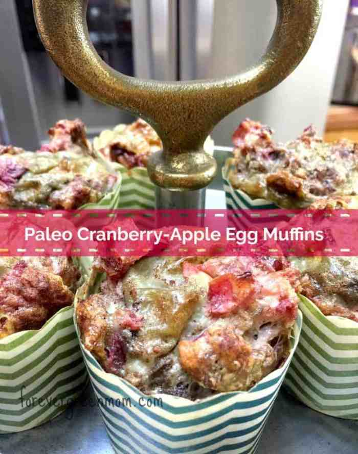 Paleo Cranberry-Apple Egg Muffins