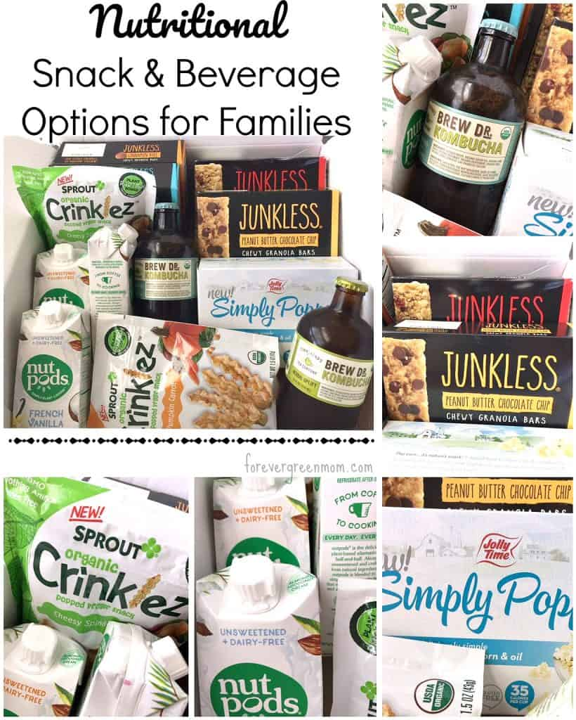 Nutritional Snack & Beverage Options for Your Family