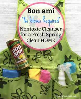 Effective Nontoxic Cleanser for Spring Cleaning