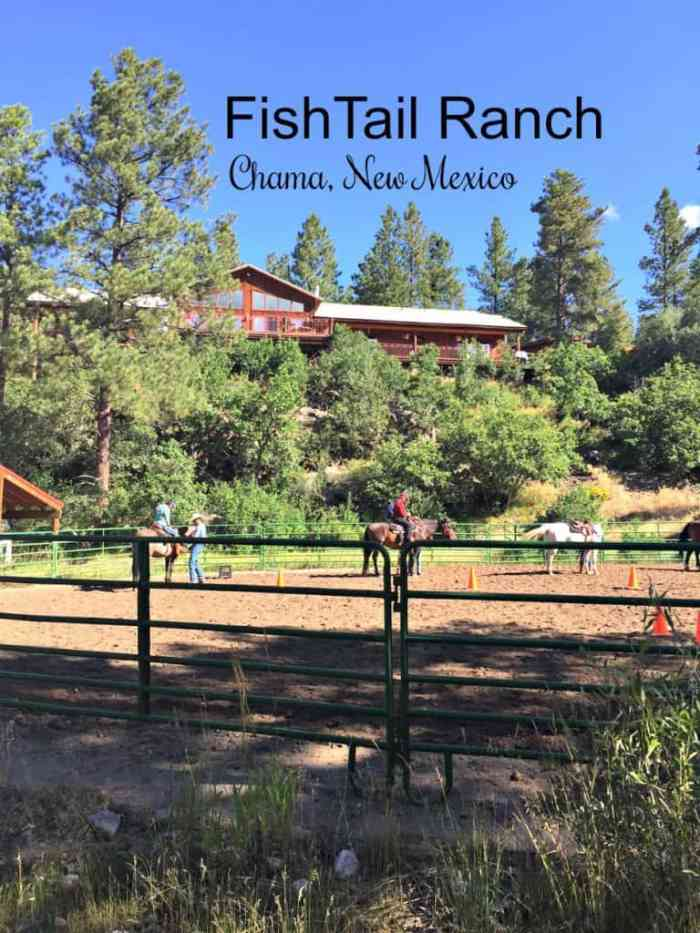 Outdoors at Fishtail Ranch - Chama, New Mexico